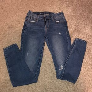Old Navy Rockstar Mid-Rise Skinny Jeans